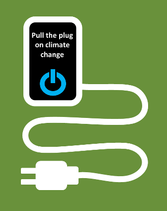 Pull the plug on climate change image