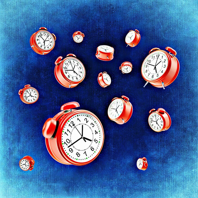 Falling clocks
