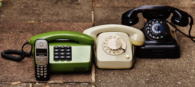 4 different types of telephones