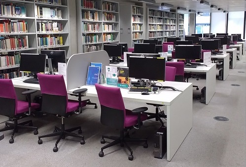 Main Library PC Area