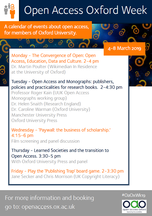 Open Access Oxford Week | Social Science Library