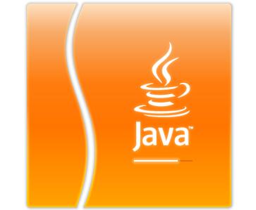 Java logo in orange