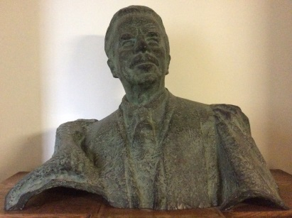 Bust of Prof. Fiedler at the Taylor Institution.