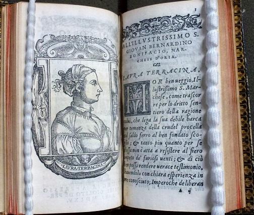 DISCORSO / SOPRA IL PRINCIPIO / DI TVTTI I CANTI / D'ORLANDO FVRIOSO. / DELLA S. LAVRA TERRACINA, / detta nell'Academia de gl'incogniti, Febea […], Venice, Gabriel Giolito de' Ferrari, 1565