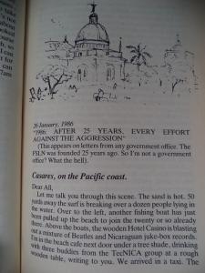 Steve Simpson. Postcard from Nicaragua