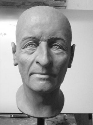 Reconstruction of the head of Dante by the University of Bologna, 2006 (© La Repubblica)