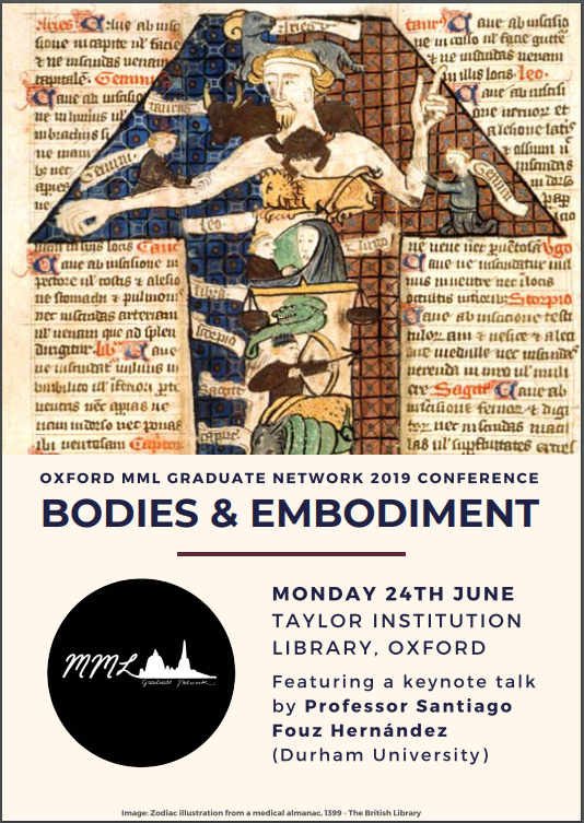Bodies and Embodiment: An Introduction to the 2018-2019 MML Graduate
