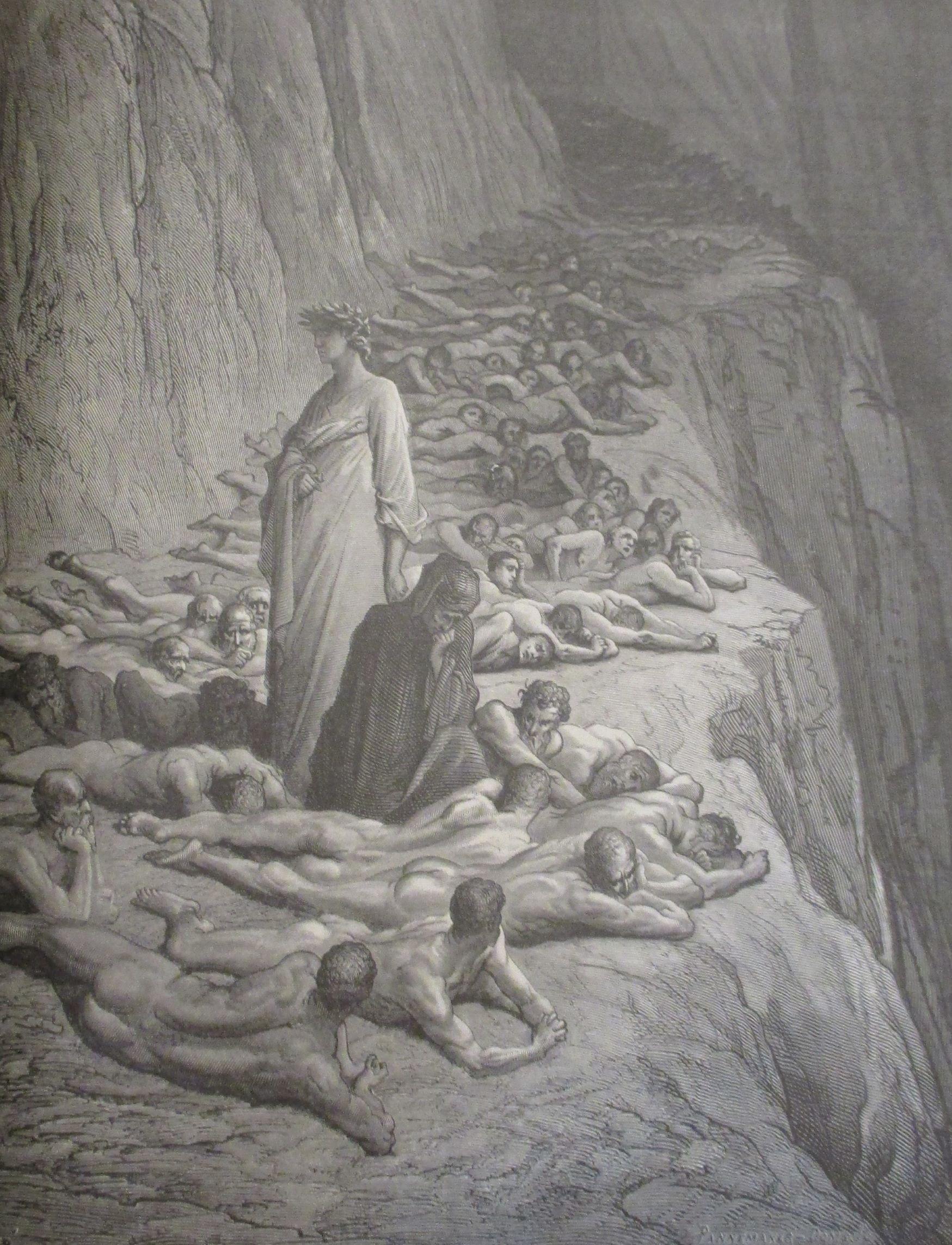Plate 53 from Dante Alighieri, La Divina commedia, illustration by Gustave Doré
