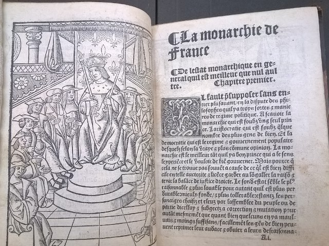 Claude de Seyssel, La grant monarchie de France (1519)