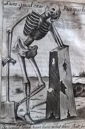 Walter Colman, La danse machabre, or death's duell (1633) Bodleian Mal. 404