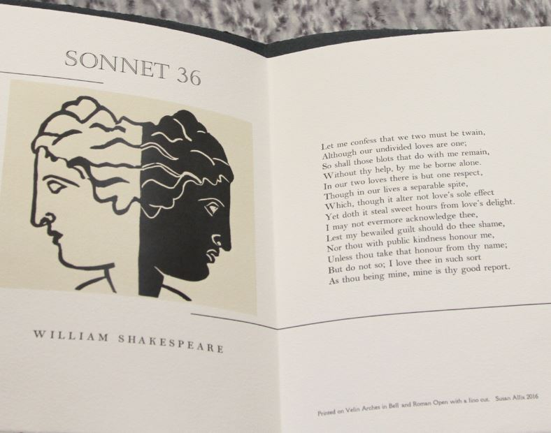 Sonnet 36, Susan Allix, London