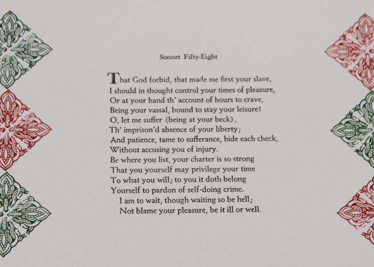 Sonnet 58, John Abraham