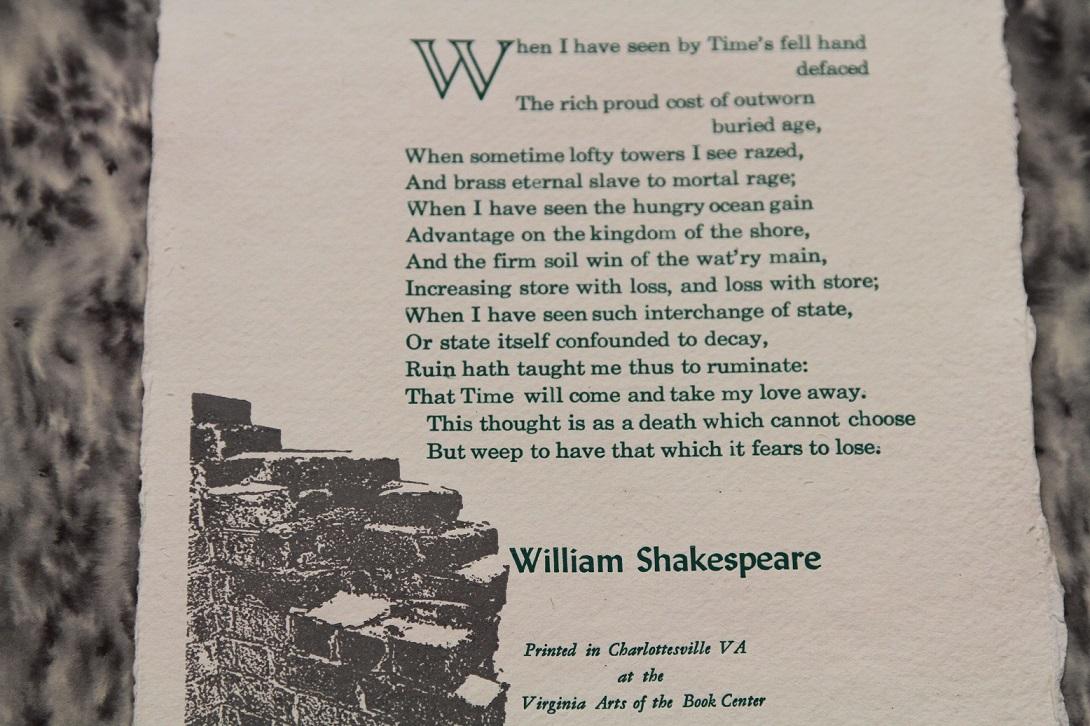 Sonnet 64, Richard Cappuccio