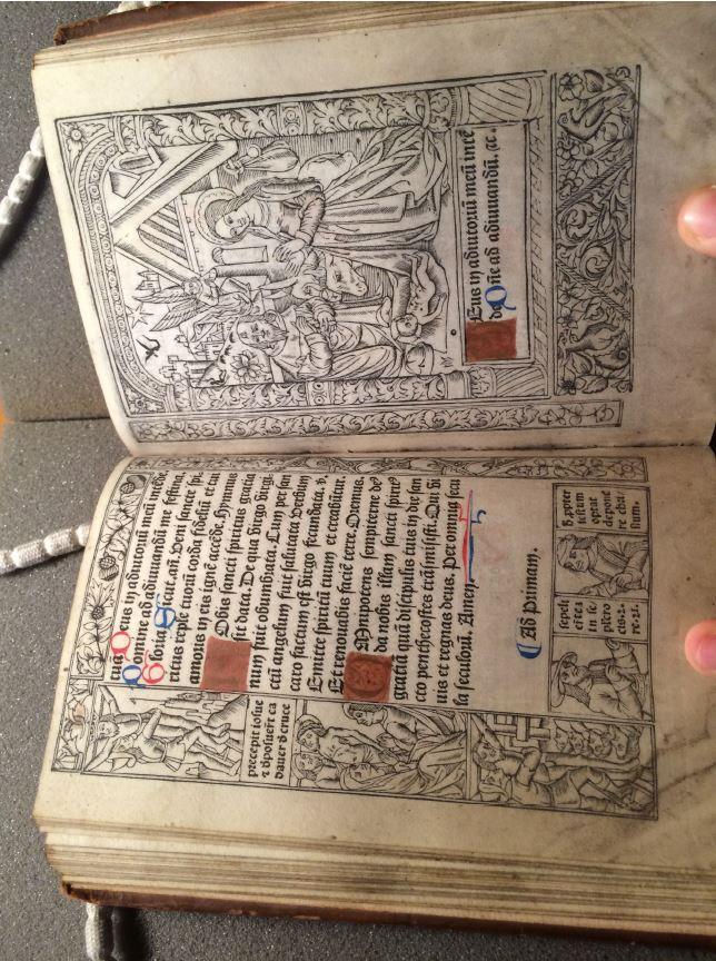 Oxford, Bodleian Library, 8° Rawl. 1092, fol. e5v/e6r