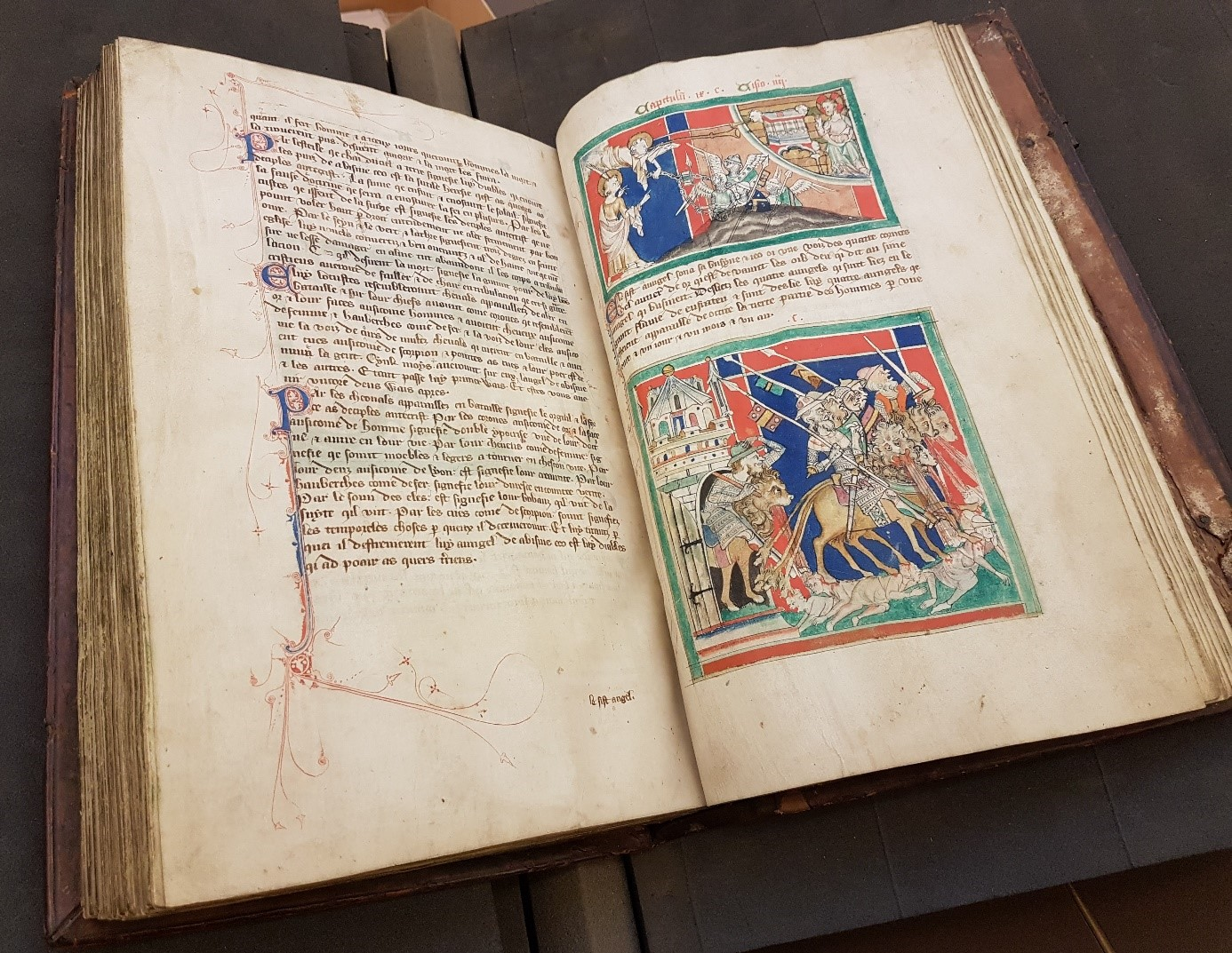 Bodleian Libraries MS. Lincoln College Lat. 16, ff. 154v-155r
