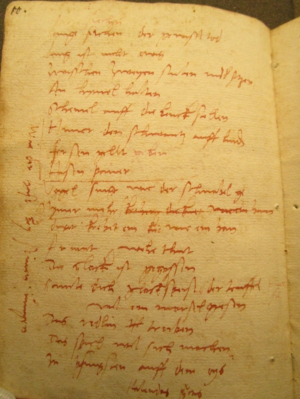 Bodleian Library MS Add. A. 92, p. 10. Photo: Alexander Peplow. Reproduced with permission of the Bodleian Libraries