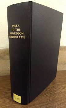 Edith Guest's Index to the Rawlinson Copper plates