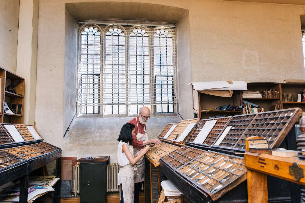 Typesetting in Bodleian Bibliographical Press