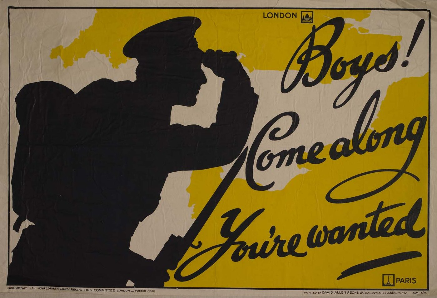 World war ii posters trench of