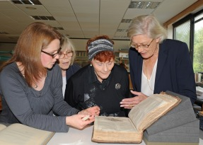 Nicole Gilroy, Margo Annett, Thelma Holt and Vanessa Redgrave explore the First Folio