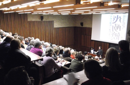 McKenzie Lecture 2013: Xu Bing speaking at the English Faculty, Oxford, 28 Feb.