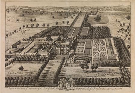 Jan Kip and Leonard Knyff, Rycott in the County of Oxford, Bodleian MS. Gough Maps 26, fol. 70