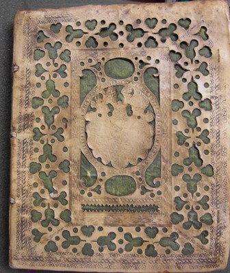 Binding of 4o A 111 Th. BS., Psalms, 1593
