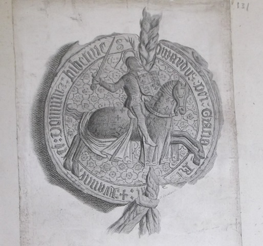 Print of a seal; Bodleian Rawl. Prints a.5, no. 131
