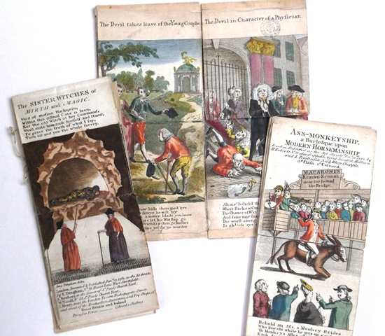 Harlequinades from the Bodleian Library's Rare Books colleciton
