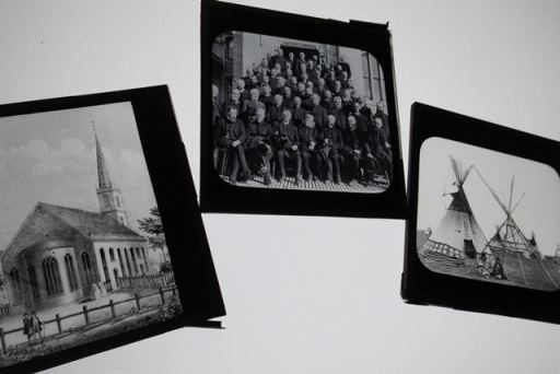 Lantern slides, Archive of the Society for the Propagation of the Gospel. Credit: USPG archive. Copyright Us.