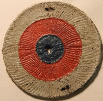 Tricolour cockade. Bodleian Library, Curzon b.33(144)