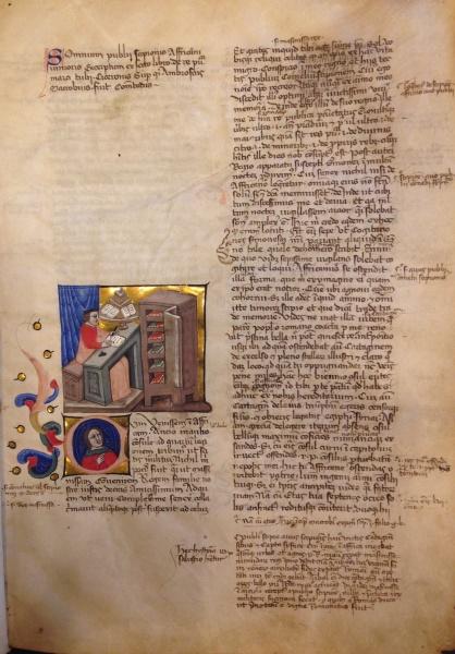 Bodleian MS. Canon. Class. Lat. 257, fol. 2r