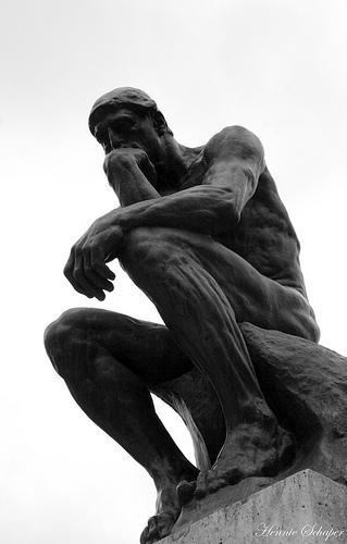 Rodin's Le Penseur sculpture
