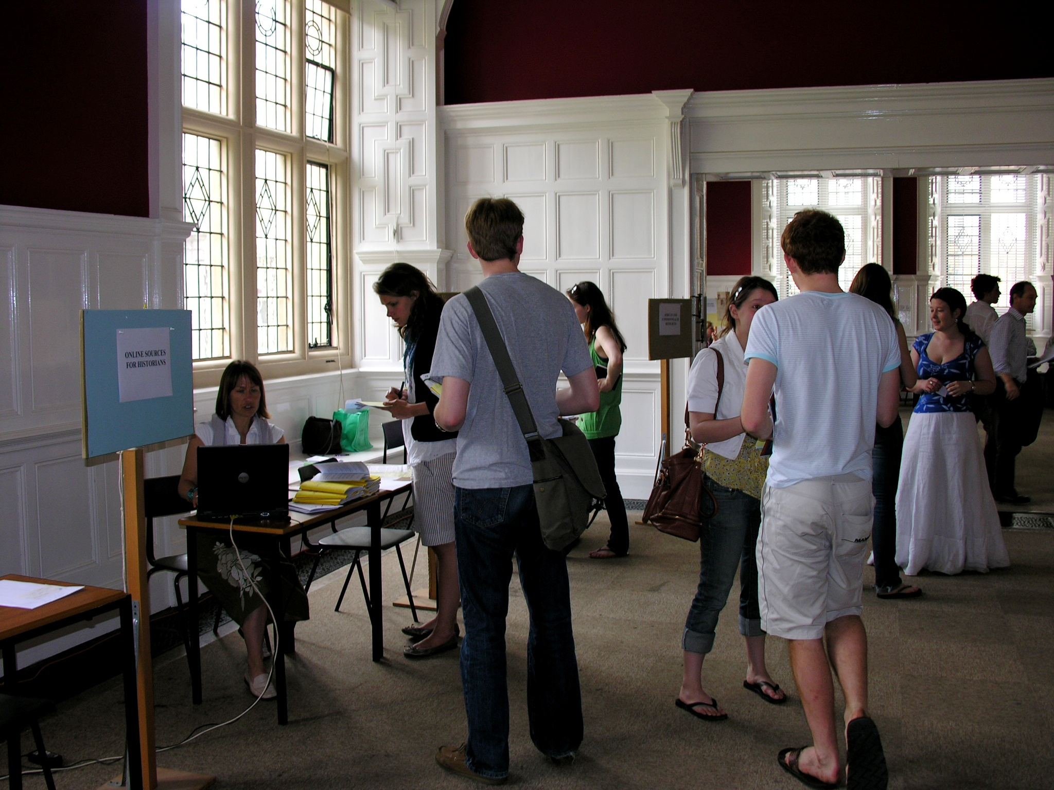 picture from previous thesis fair