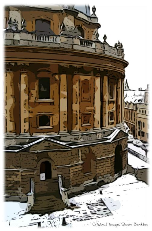 Radcliffe Camera in Snow