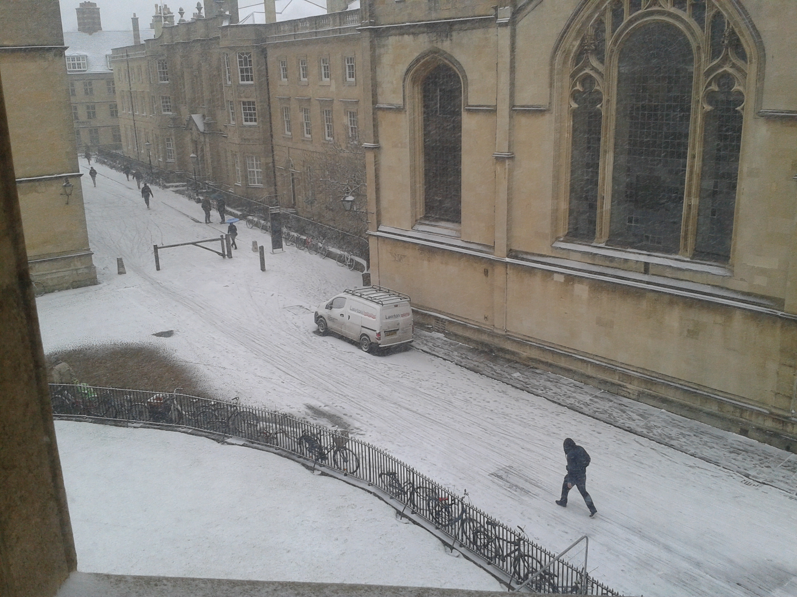 Current view from Radcliffe Camera
