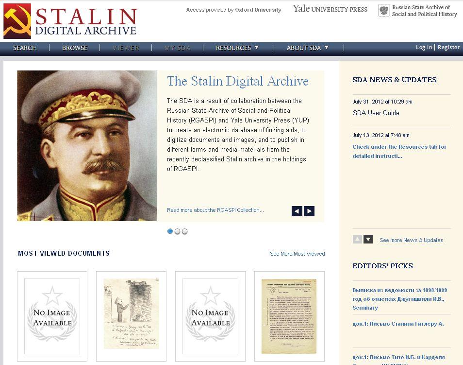 Stalin Digital Archive