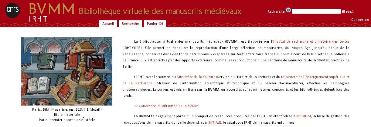BVMM homepage