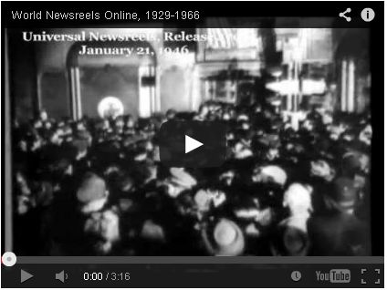 Sampler video for World Newsreels Online