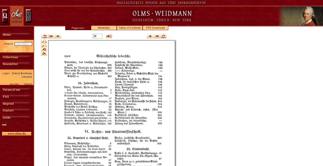 Frankfurter and Leipzig book fair catalogues - screenshot