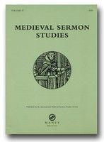 Medieval Sermon Studies - cover