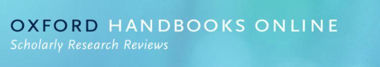 Oxford Handbooks Online - logo