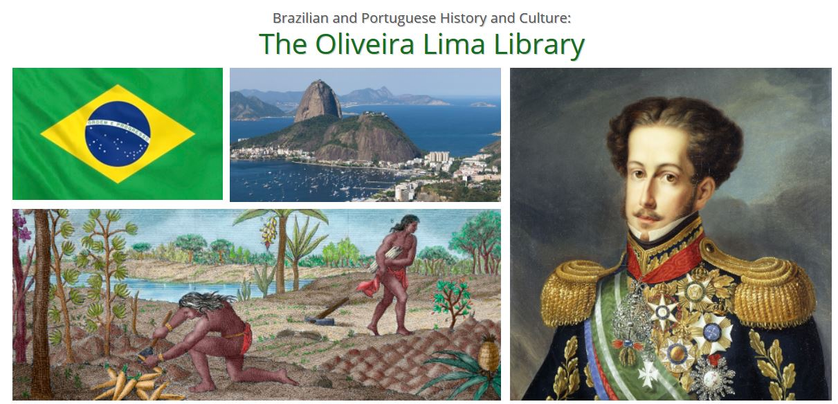 Oliveira Lima Library trial - screenshot
