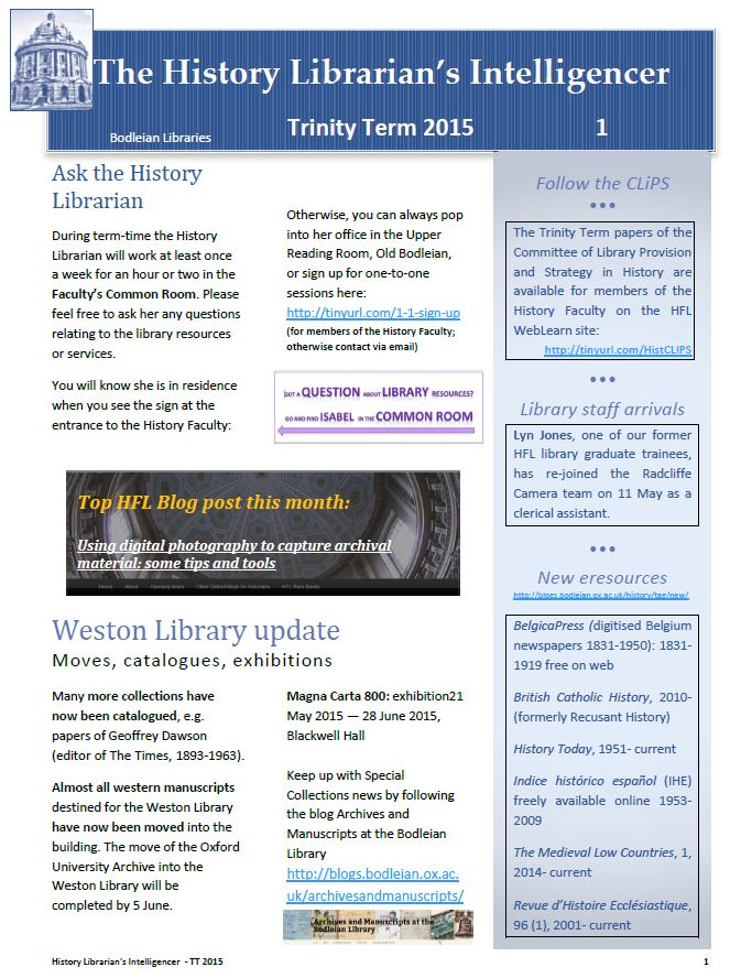 Leaders in Library Research Resources