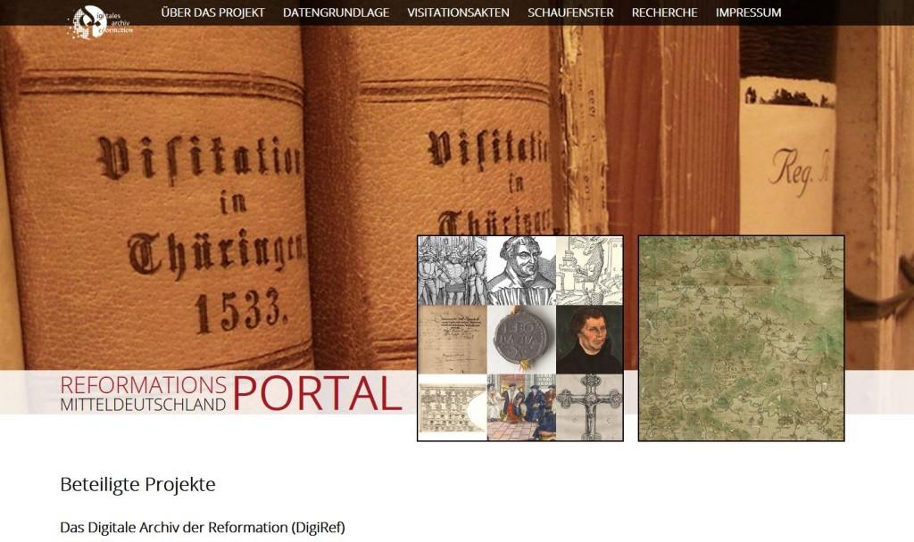 Reformationsportal Mitteldeutschland