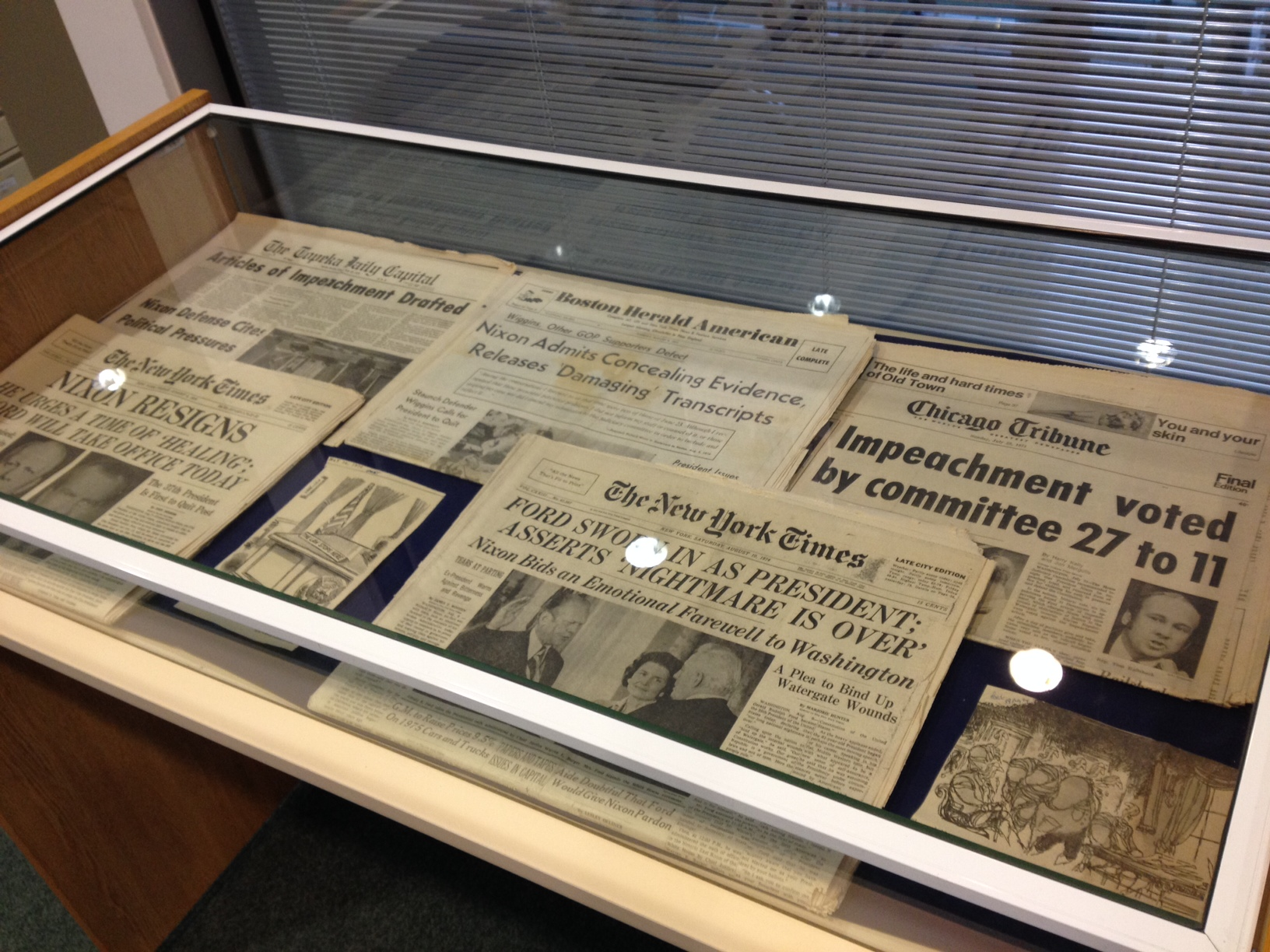 Watergate newspapers 1