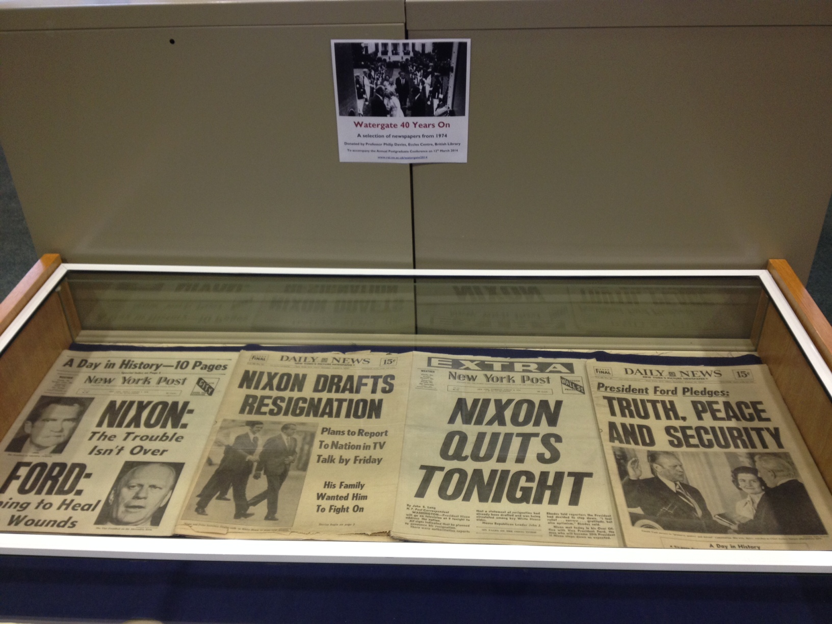 Watergate newspapers 2