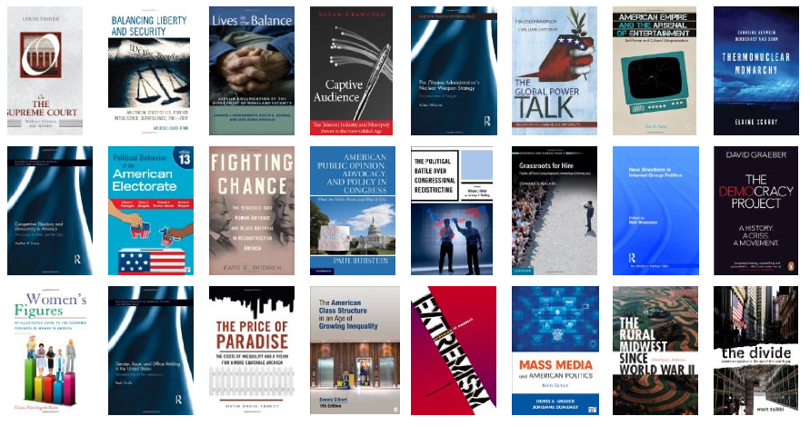New books for May