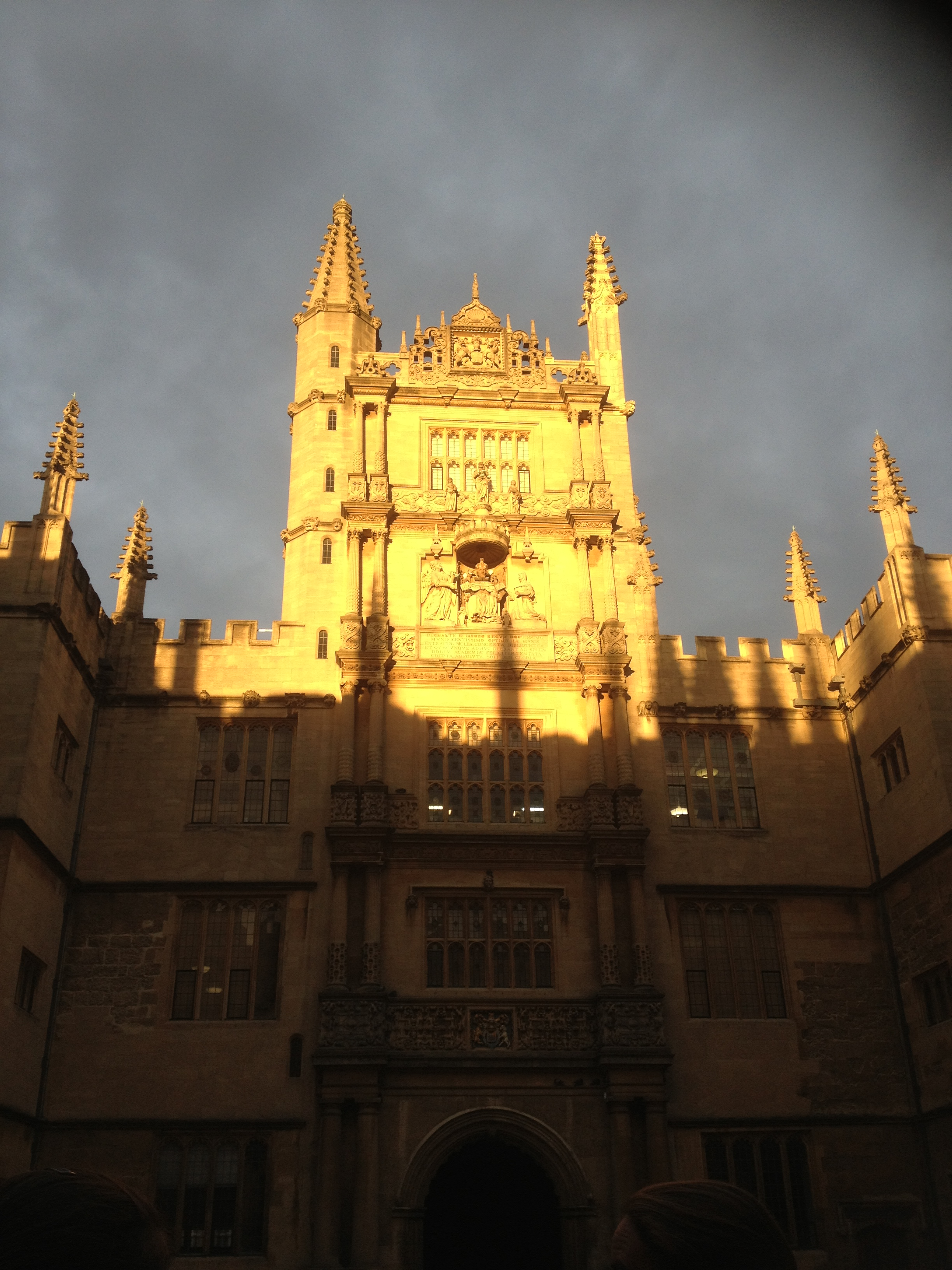 The Bodleian Library at Sunset