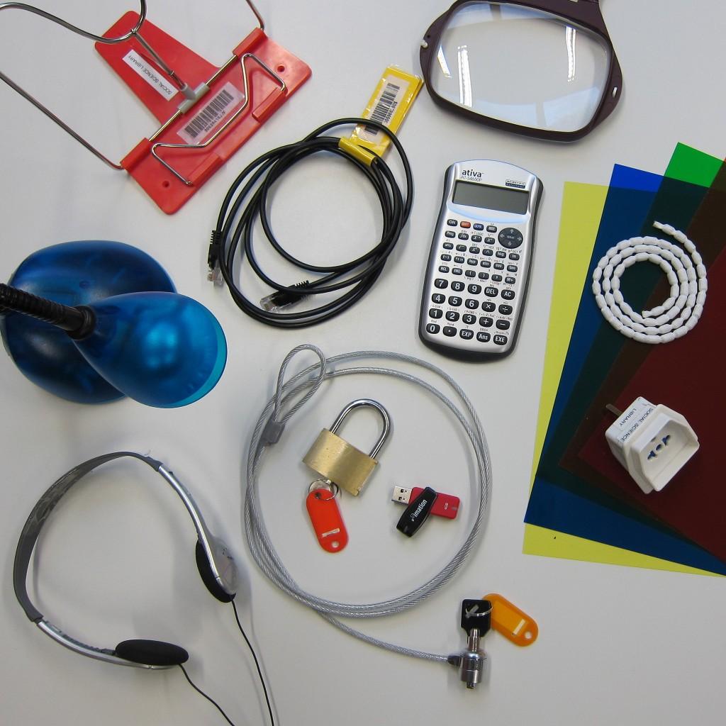 Equipment for loan Nov 2012